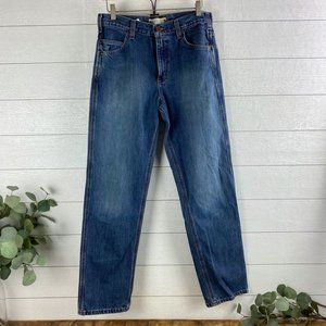 Carhartt Mens 31x32 relaxed Fit Blue Jeans B213